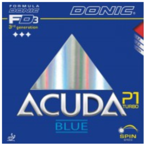 Donic Acuda Blue P1 Turbo Rubber, 多尼克阿库达蓝P1特别加强版胶皮