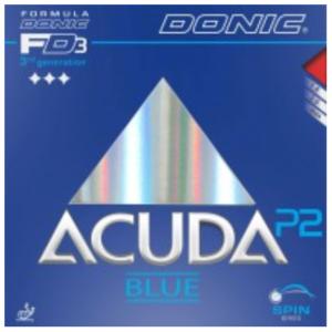 Donic Acuda Blue P2 Rubber, 多尼克阿库达蓝P2胶皮
