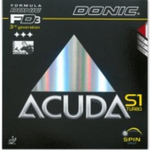 Donic Acuda S1 Turbo Rubber, 多尼克阿库达S1特别加强版胶皮