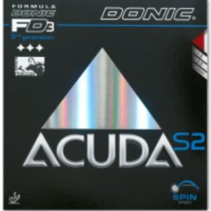 Donic Acuda S2 Rubber, 多尼克阿库达S2胶皮