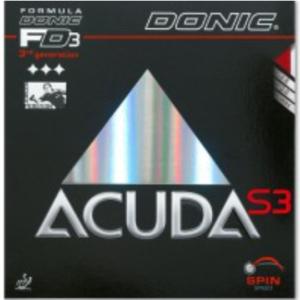 Donic Acuda S3 Rubber, 多尼克阿库达S3胶皮