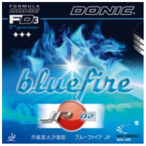 Donic Bluefire JP02 Rubber, 多尼克蓝火JP02胶皮