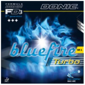 Donic Bluefire M1 Turbo Rubber, 多尼克蓝火M1高级加强版胶皮