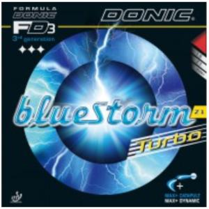 Donic Bluestorm Z1 Turbo Rubber, 多尼克蓝色风暴Z1高级加强版胶皮