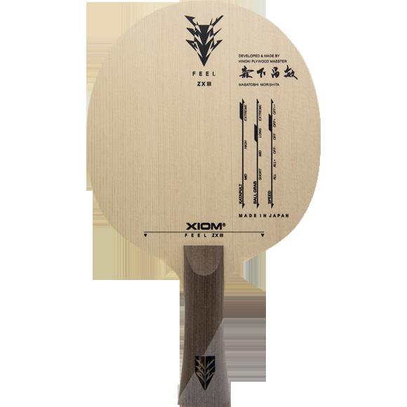 Xiom Feel ZXIII Table Tennis Racket