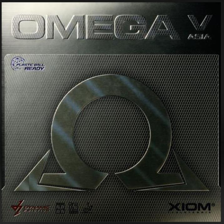 Xiom Omega V Asia Rubber,骄猛欧米茄V 亚洲套胶