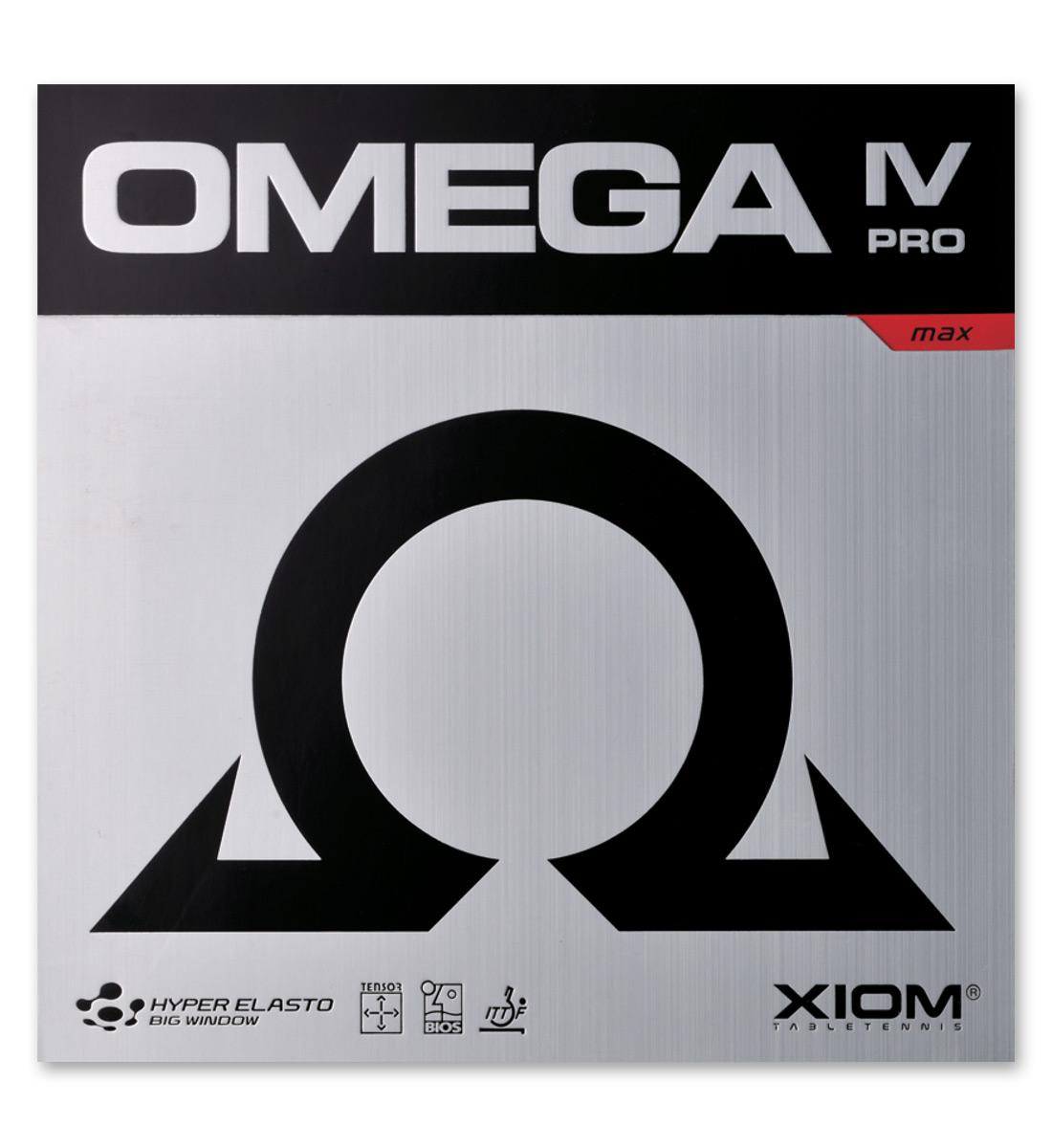 Xiom Omega IV Pro Rubber,骄猛欧米茄IV 专业套胶