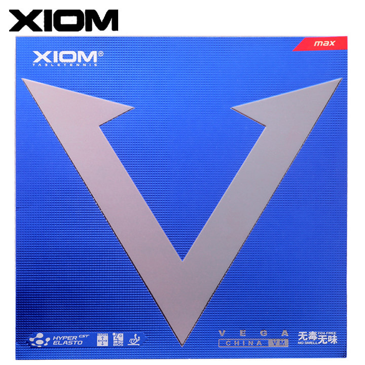 Xiom Vega China VM Rubber,骄猛唯佳中国套胶