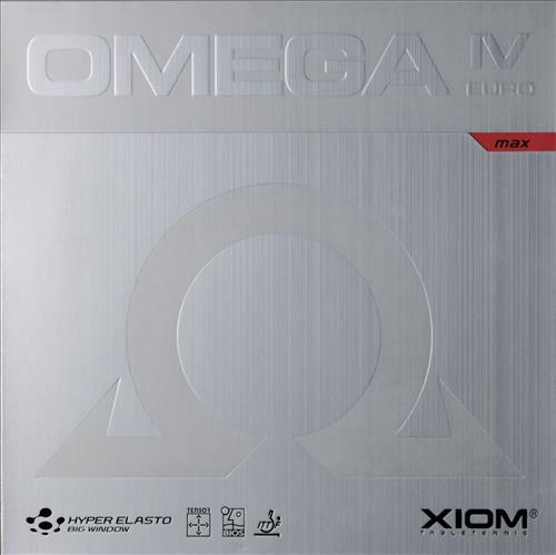 Xiom Omega IV Euro Table Tennis Rubber