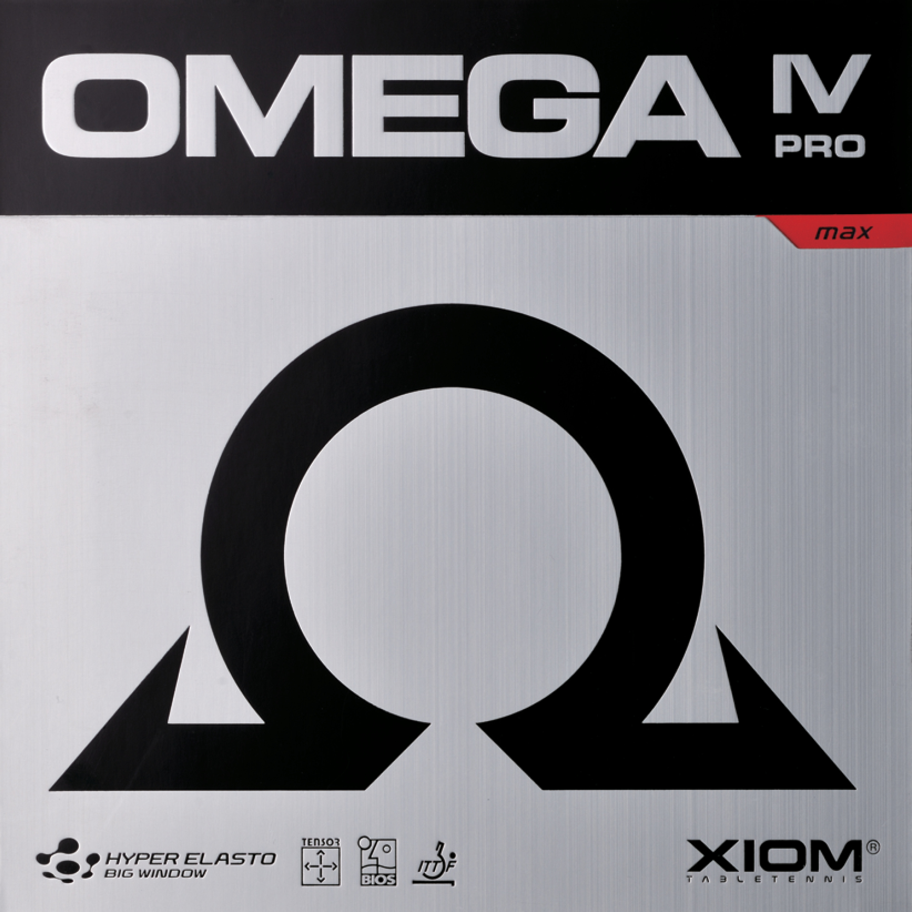 Xiom Omega IV Pro Table Tennis Rubber
