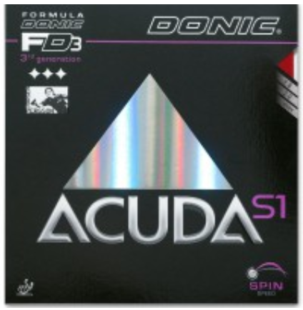 Donic Acuda S1 Rubber, 多尼克阿库达S1胶皮
