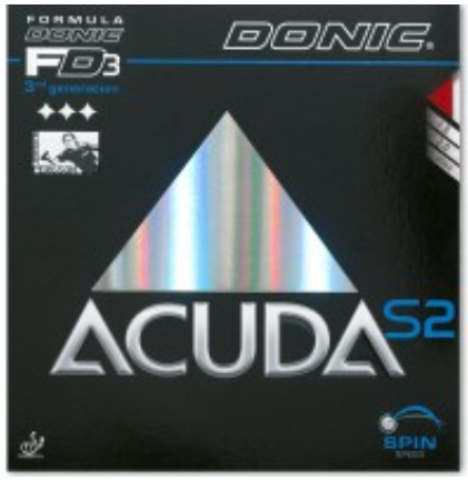 Donic Acuda S2 Rubber, 多尼克阿库达S2胶皮