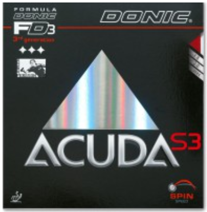 Donic Acuda S3 Rubber, 多尼克阿库达S3胶皮