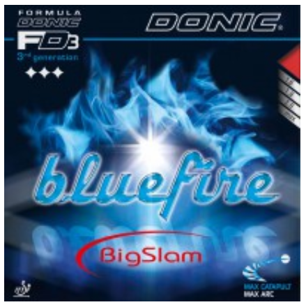 Donic Bluefire Big Slam Rubber, 多尼克蓝火大满贯胶皮
