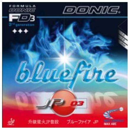 Donic Bluefire JP03 Rubber, 多尼克蓝火JP03胶皮