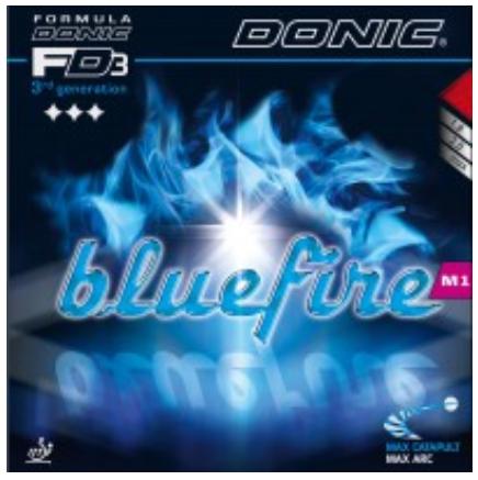 Donic Bluefire M1 Rubber, 多尼克蓝火M1胶皮