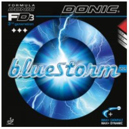 Donic Bluestorm Z2 Rubber, 多尼克蓝色风暴Z2胶皮