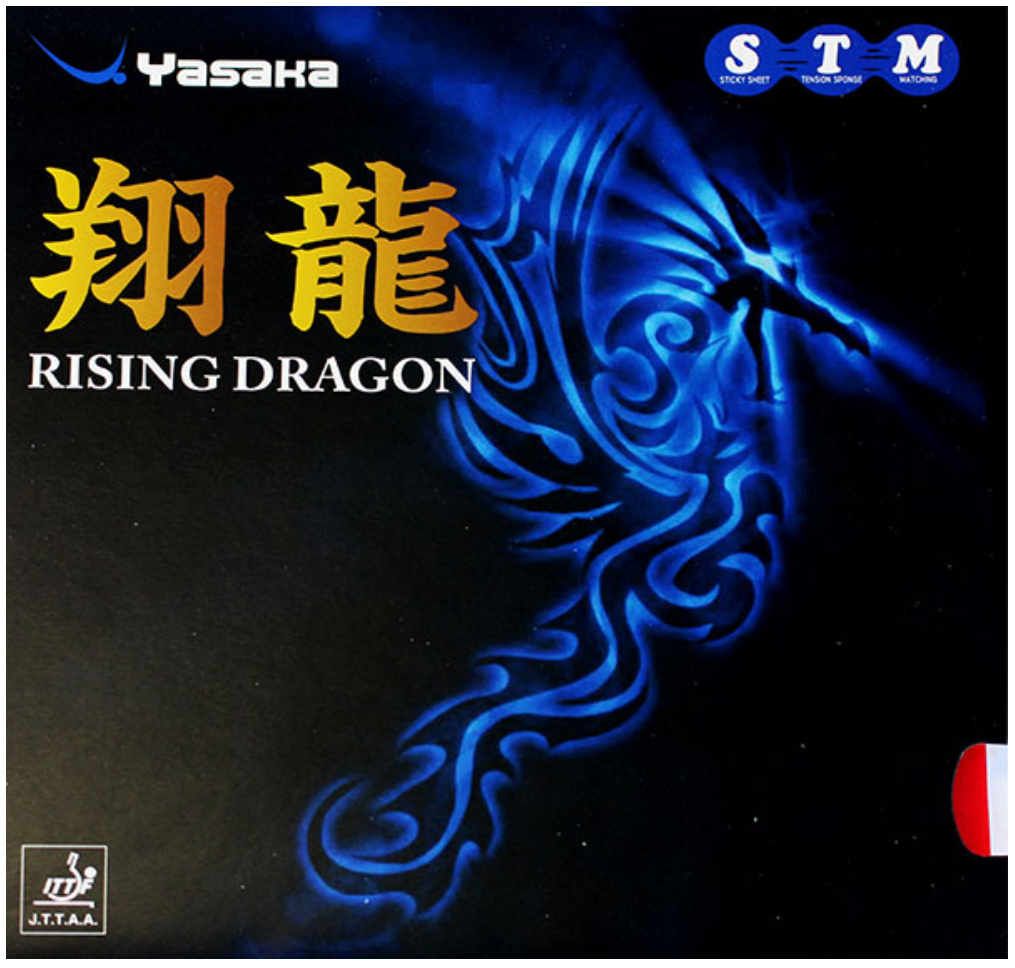 Yasaka Rising Dragon Rubber, 亚萨卡翔龙胶皮