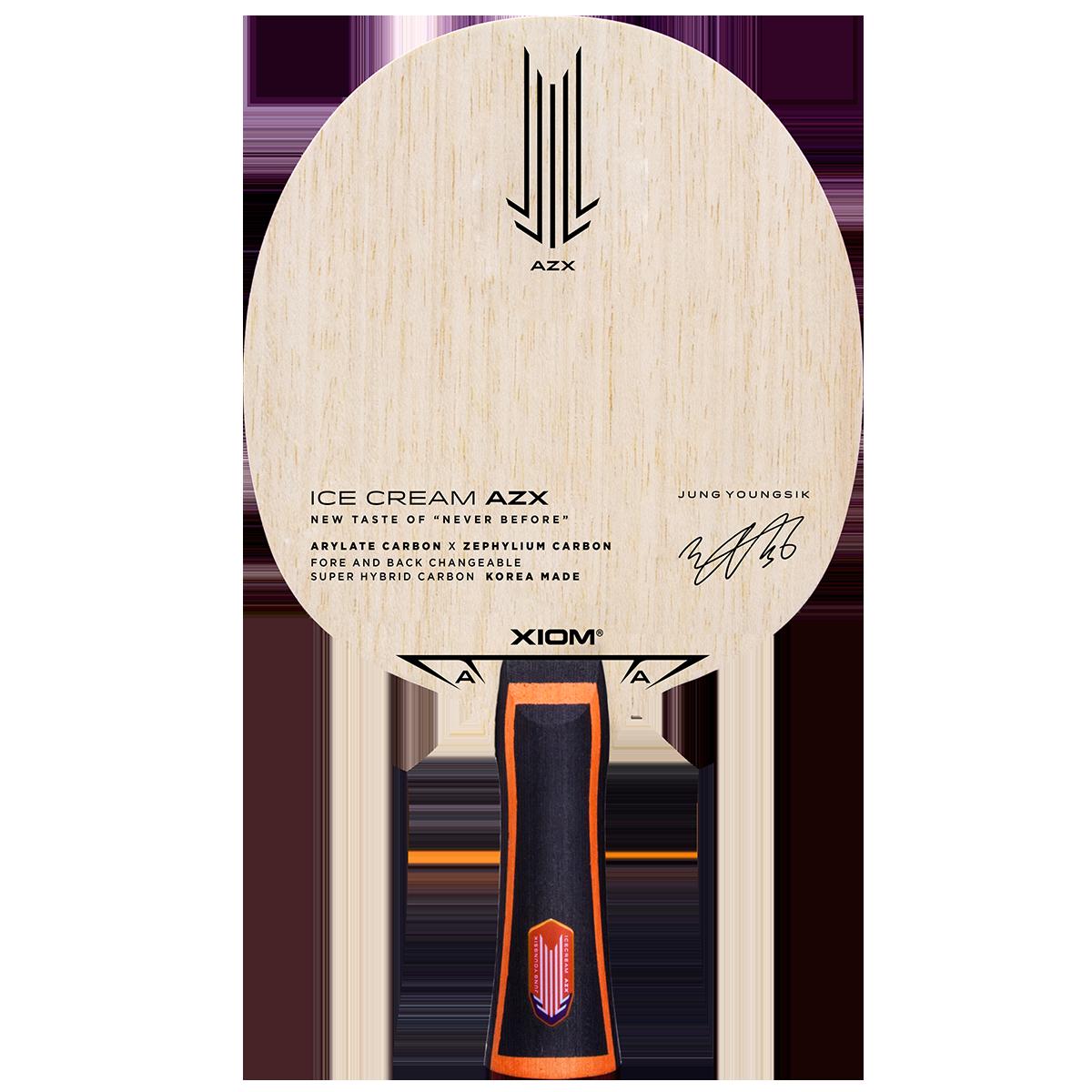 Xiom Ice Cream AZX Table Tennis Racket
