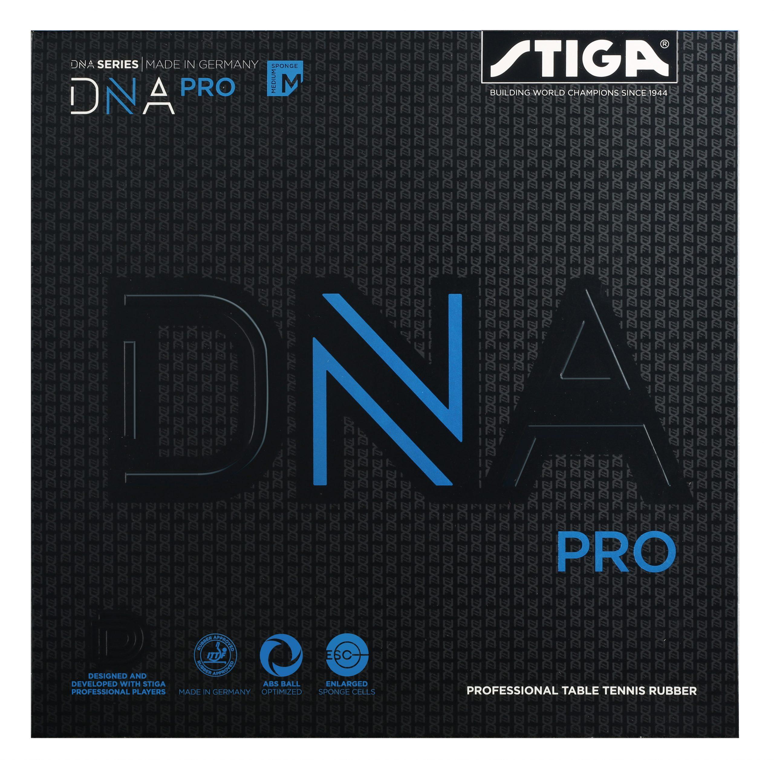 Stiga DNA Pro M Rubber