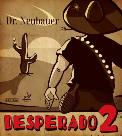 Dr. Neubauer Desperado 2 Rubber (Long Pip)