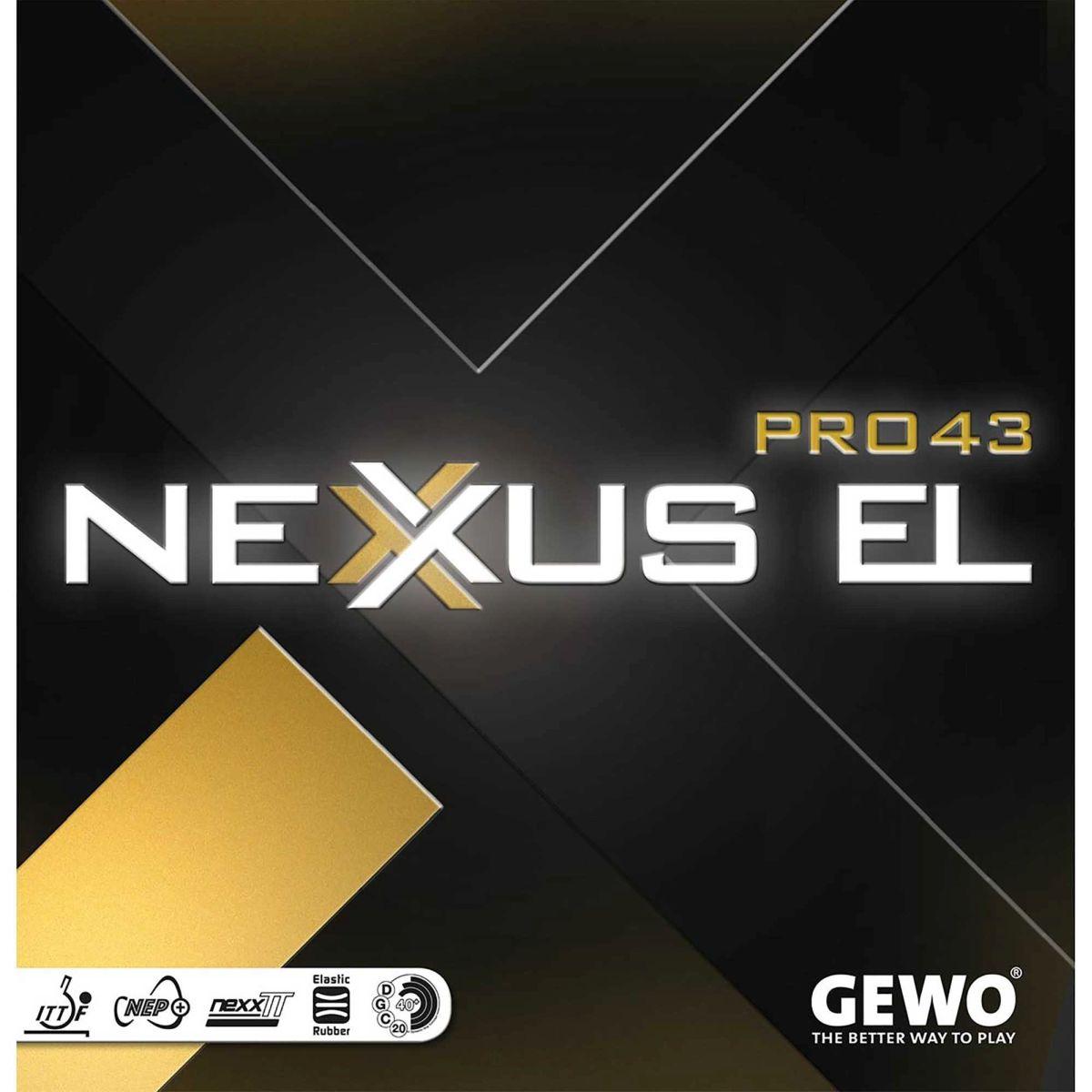 Gewo Nexxus EL Pro 43 Rubber
