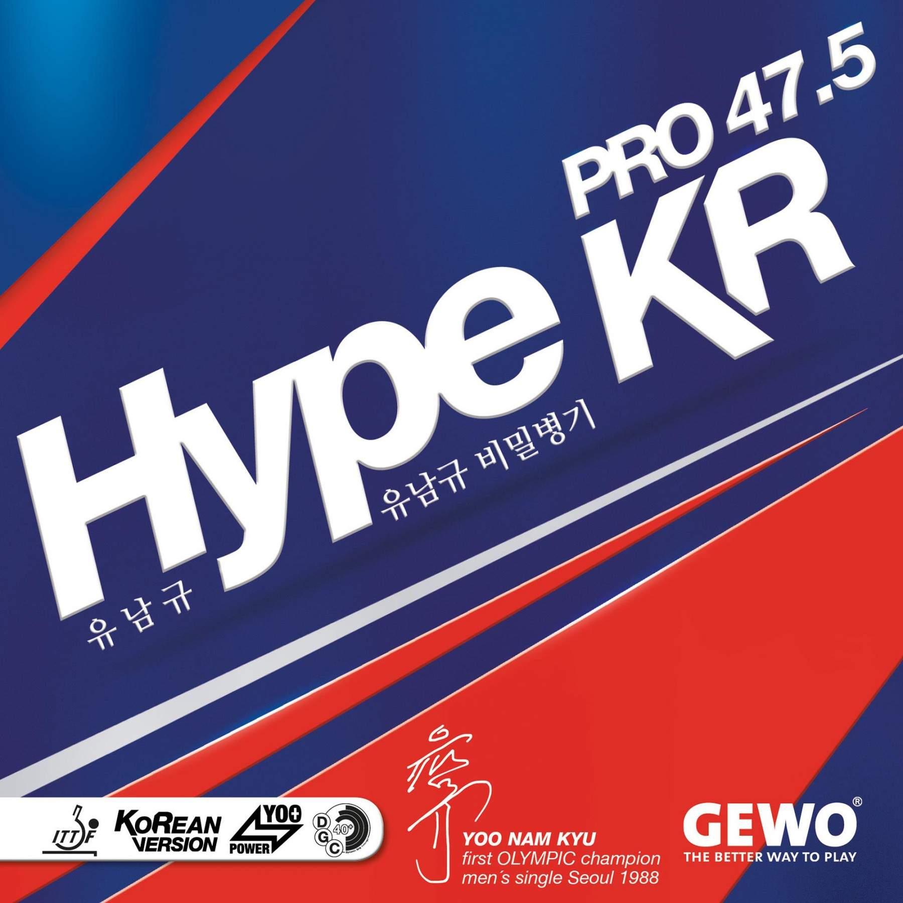Gewo Hype KR Pro 47.5 Rubber